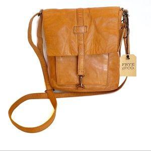 Frye NWT Rubie Leather Crossbody Bag